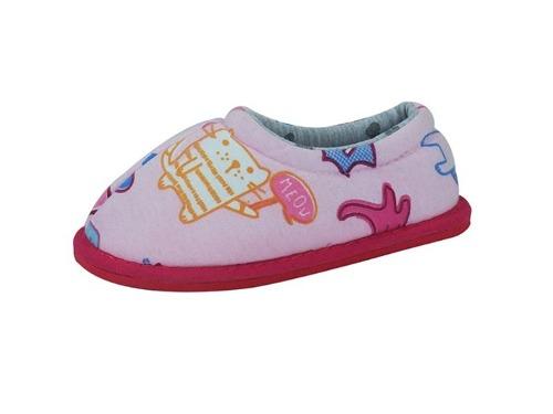 7e0b598a Pantuflas Infantiles De Jersey Estampado De Niño   Tienda M45